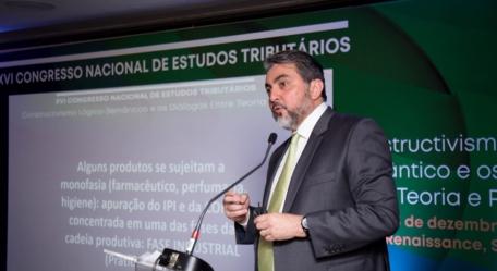 Geilson Salomão palestra no XVI Congresso Nacional de Estudos Tributários do IBET