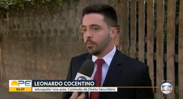 Leonardo Cocentino concede entrevista ao Bom dia Pernambuco730x480
