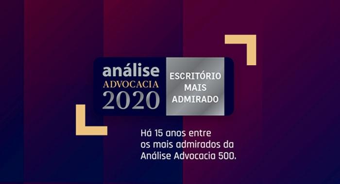 Queiroz Cavalcanti Advocacia reconhecido, pelo 15º ano consecutivo, pela Análise Advocacia 500. #orgulhodeserQCA