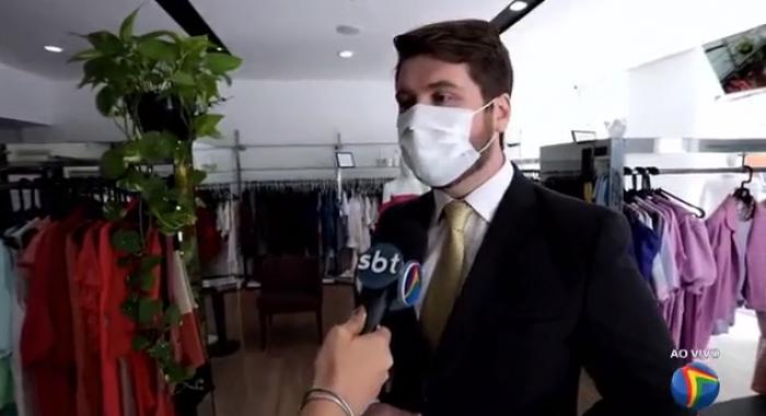 Silvio Latache orienta e dá dicas sobre a Black Friday ao TV Jornal Meio Dia.730x480