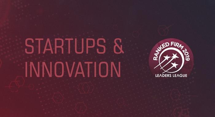 Fomos reconhecidos, pelo segundo ano consecutivo, um dos melhores escritórios do Brasil na categoria Startups & Innovation.730x480