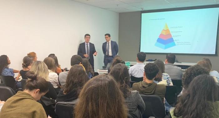 Tiago Lima e Rafael Accioly promovem palestra de capacitação na principal urbanizadora do Brasil 730x480