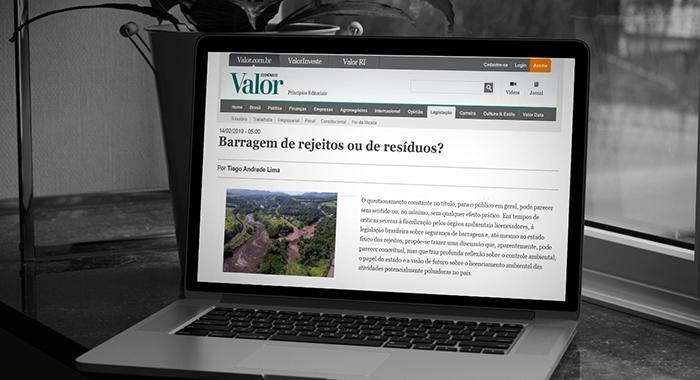Tiago Andrade Lima tem artigo publicado no Valor Econômico730x480