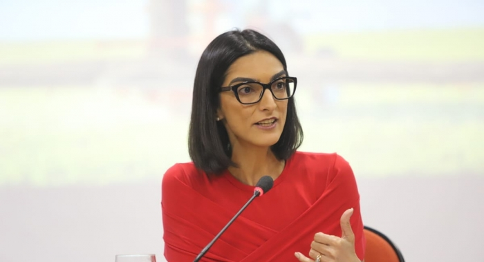 Marina Gadelha preside mesa no II Congresso Internacional de Direito Agrário e do Agronegócio 730x480